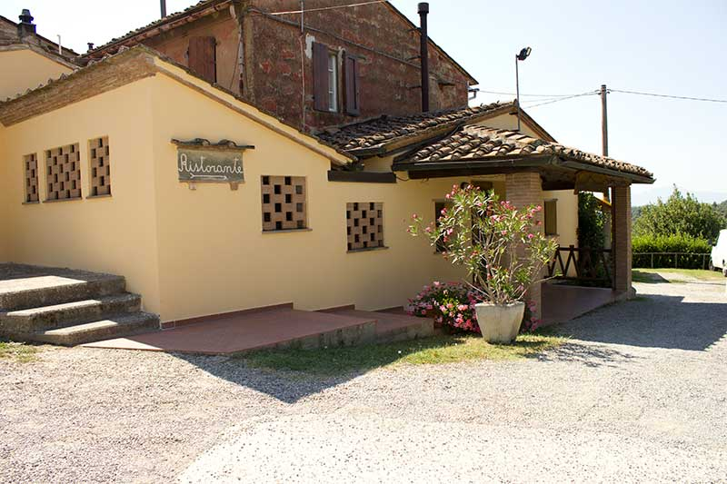 Ristorante San Miniato con cucina tipica toscana