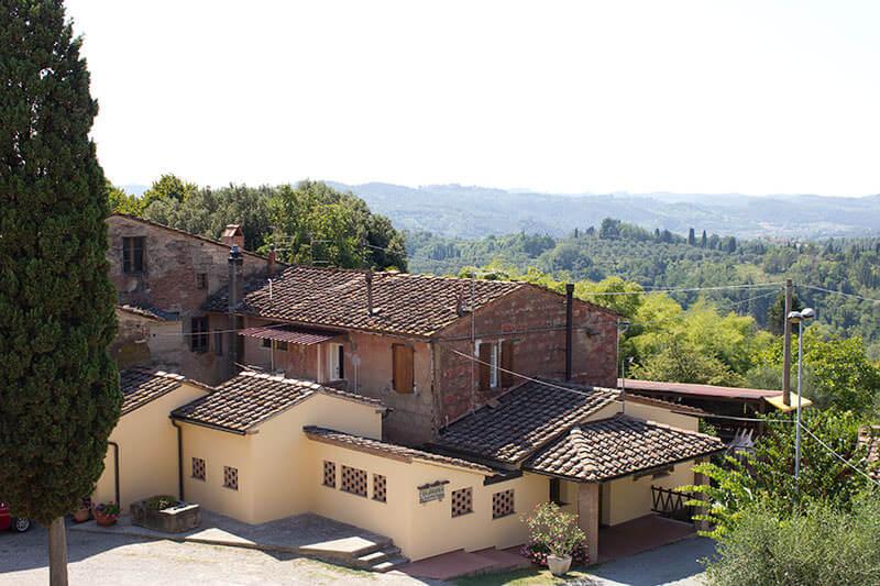 Ristorante bed & breakfast Collebrunacchi - San Miniato Toscana