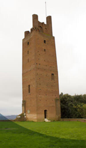Rocca medievale di San Miniato - Torre di Federico II di Svevia